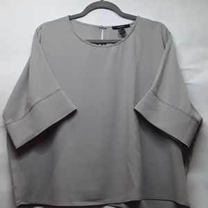 Large Gray Forever 21 Batwing Top